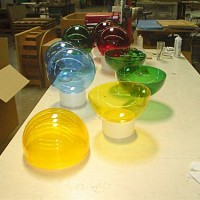 Colorful Hemispheres