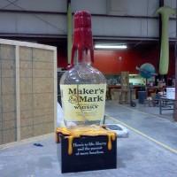Giant Whiskey Bottle C/O the Weber Group