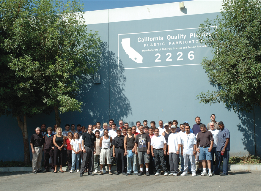 California Quality Plastics Employees