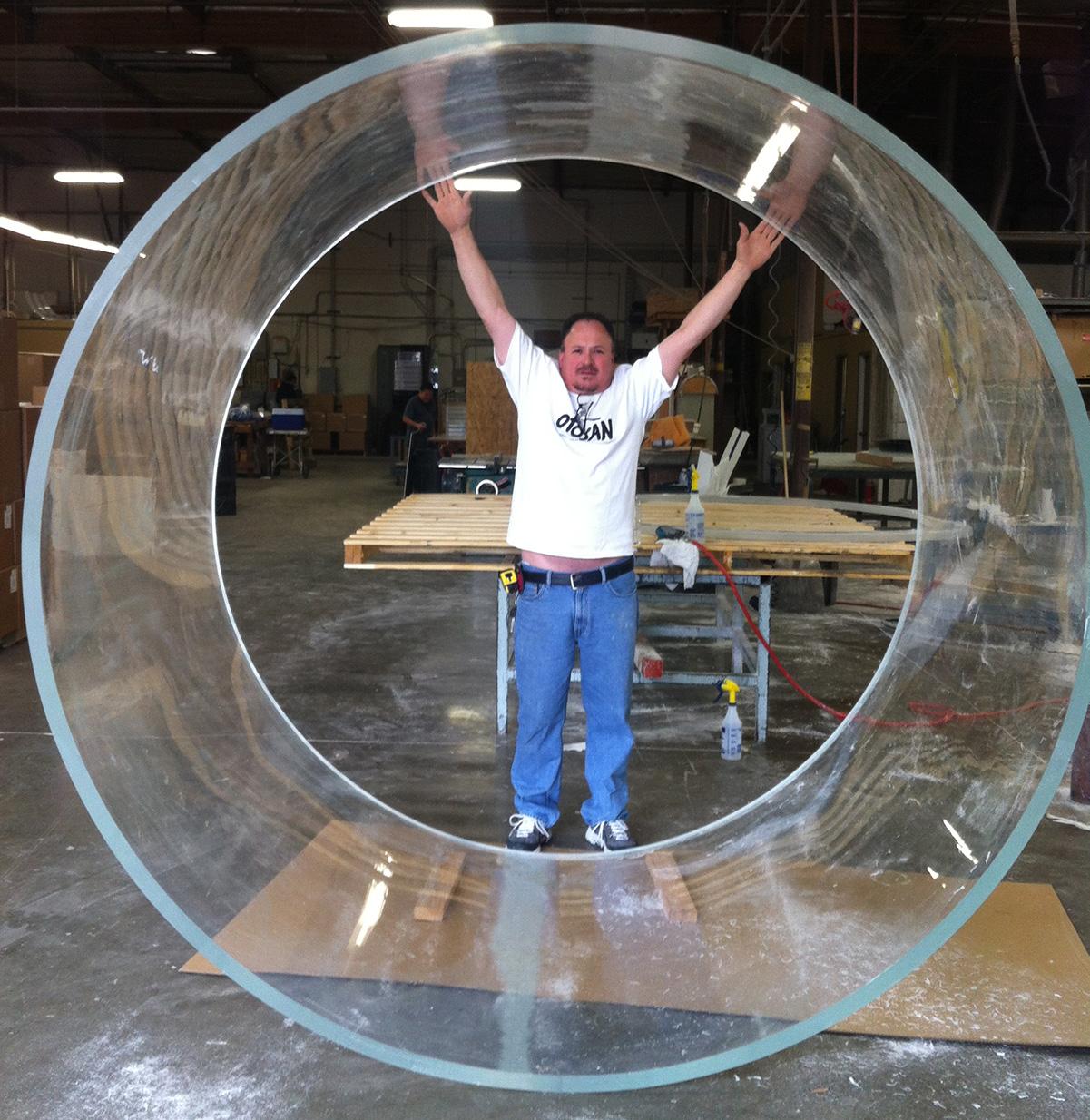 Giant Plastic Cylinder