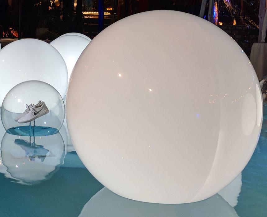 Plastic Spheres | Acrylic Spheres | California Quality Plastics